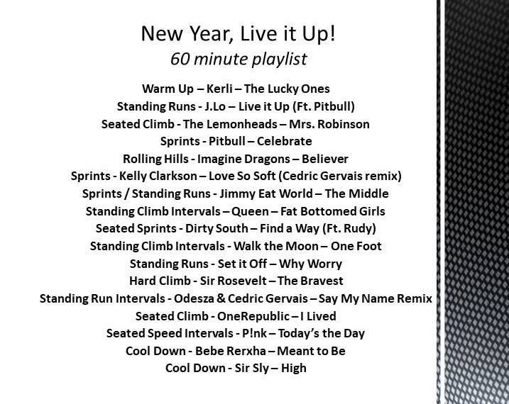 New Year, Live it Up!
