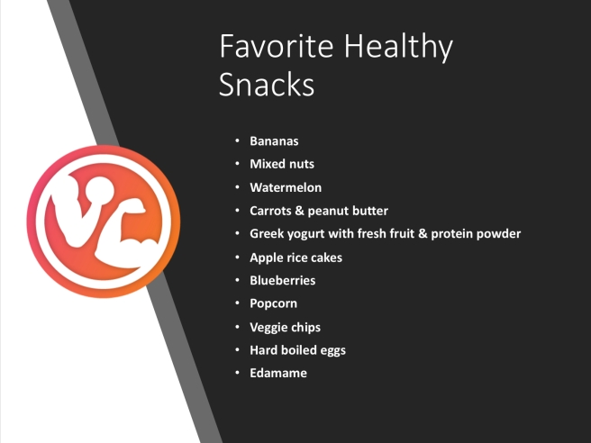 Favorite Healthy Snacks